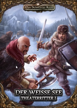 Theaterritter 1 Weiße See Rezension DSA Ulisses Spiele Cover