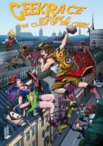 Das Plakat der GeekRace