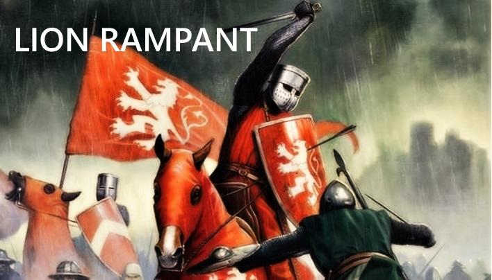 Lion Rampant – Historisches Tabletop im Zeichen des Löwen