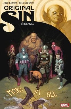 Marvel orginal sin cover marvel panini comics