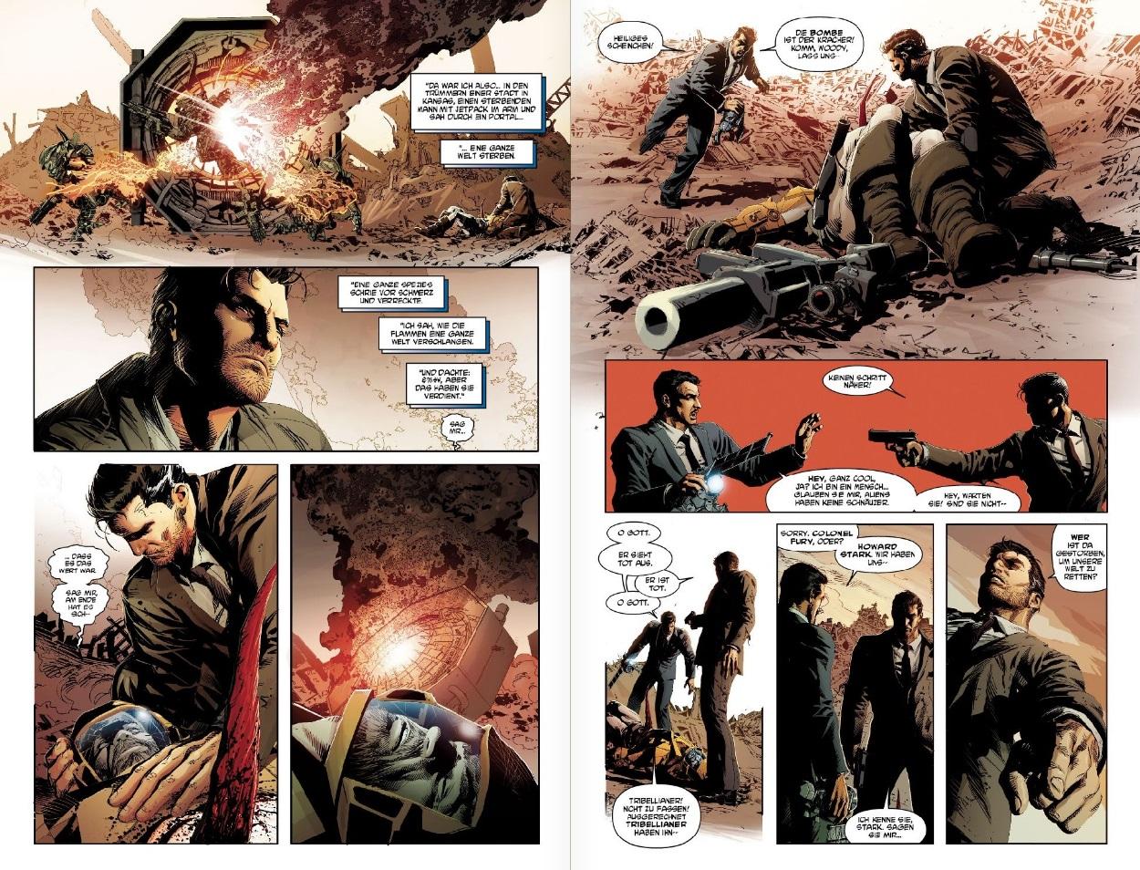 Nick Fury trägt zur Aufklärung bei