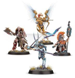 Die vier zusätzlichen Helden wandern für 45 EUR über die Ladentheke.