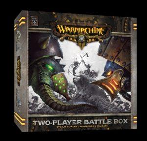 Das aktuelle Produktbild der kommenden 2-Spieler-Starterbox zu Warmachine.
