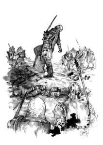Das Schlachtfeld - Katharina Niko - UIisses Spiele