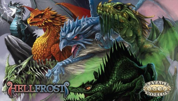Kurzcheck: Hellfrost Kreaturenhandbuch – Unser kleiner Zoo (Savage Worlds)