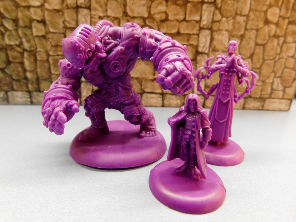 "Die einmaligen Figuren in lila stellen gegen Ende der Kampagne die ""richtigen"" Bosse dar."