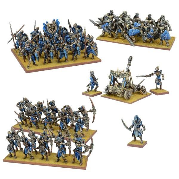 Einige der Modelle für das Imperium des Staubs.