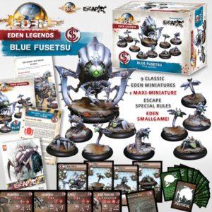 Der Inhalt von Eden Legends – Blue Fusetsu.