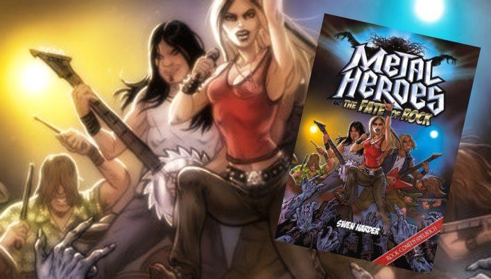 Rezension: Metal Heroes and the Fate of Rock – Es ist nicht leicht, ein Gott zu sein