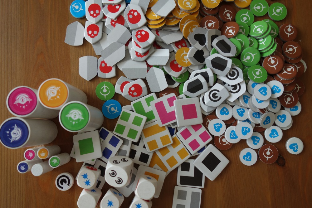 Tatsächlich ist nur ein kleiner Teil der vielen Marker gleichzeitig im Einsatz!