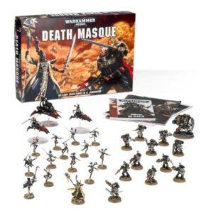 Der umfangreiche Inhalt von Death Masque.