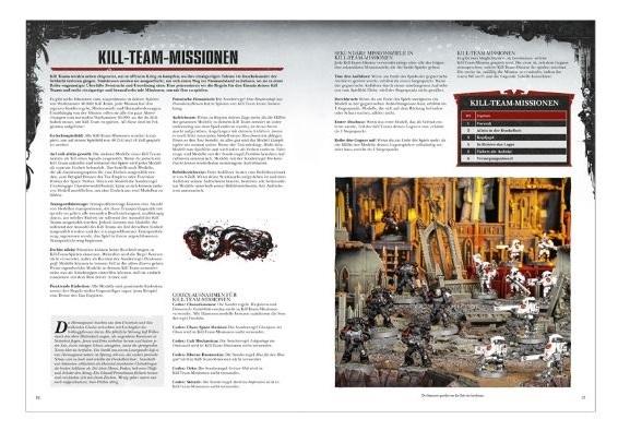 Auch Missionen sind im nur 32-seitigen Heft enthalten.