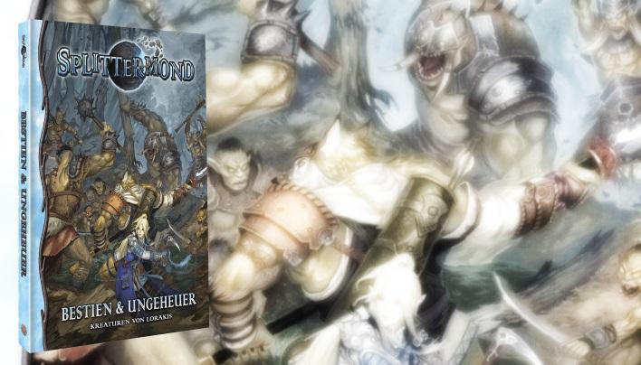 Rezension: Bestien & Ungeheuer – Kreaturen von Lorakis – Drachen, Untote und Zyklopen (Splittermond)