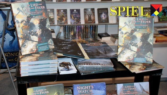SPIEL 2016: Mantikore-Verlag – Spielbücher, Game of Thrones und Romane