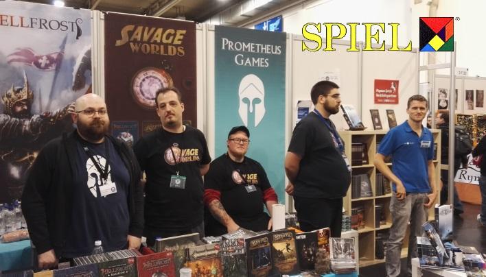 SPIEL 2016: Prometheus Games präsentiert sich
