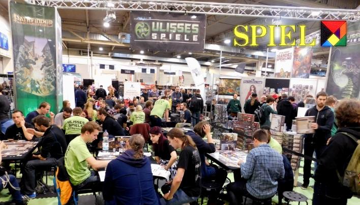 SPIEL 2016: Ulisses Spiele Brettspiele und Tabletop