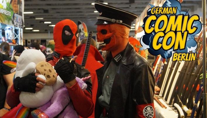 German Comic Con Berlin 2016 – gelungenes Chaos?