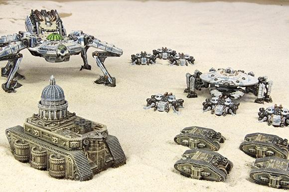 Viele Dystopian Wars-Produkte werden nun nur noch über Spartan Games erhältlich sein.