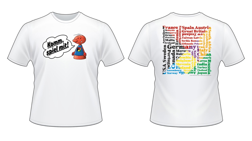 Das offizielle T-Shirt der SPIEL 2016.