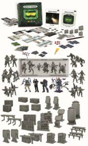 Die Grundbox bietet bereits einigen Inhalt für die 1-5 Spieler.