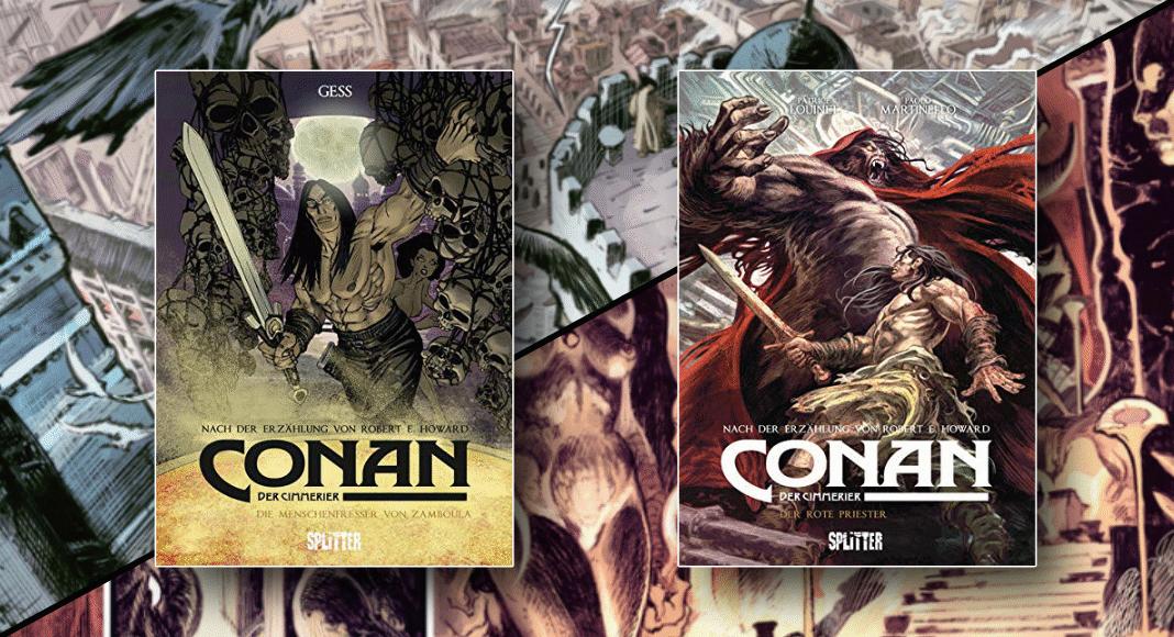 Kurzcheck: Conan der Cimmerier 9 & 10 (Splitter) - Wenn